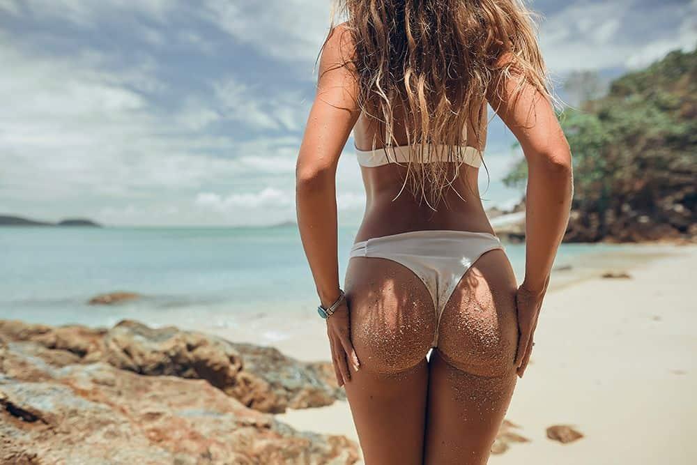 grosse fesses sur la plage programme